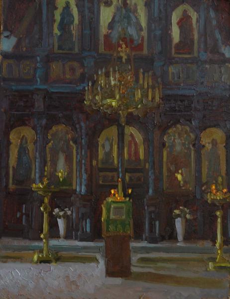 Анна Боганис. В храме