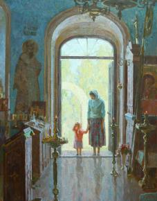 Анна Боганис. Введение во храм