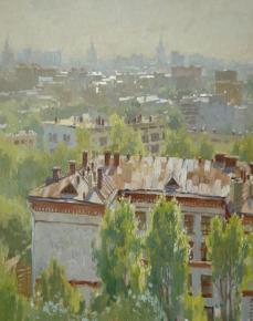 Анна Боганис. Утро в Москве