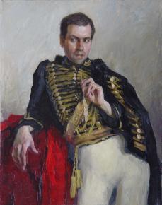 Анна Боганис. Портрет гусара