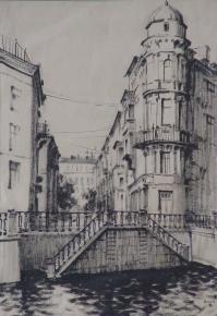 Anna Boganis. peterburg
